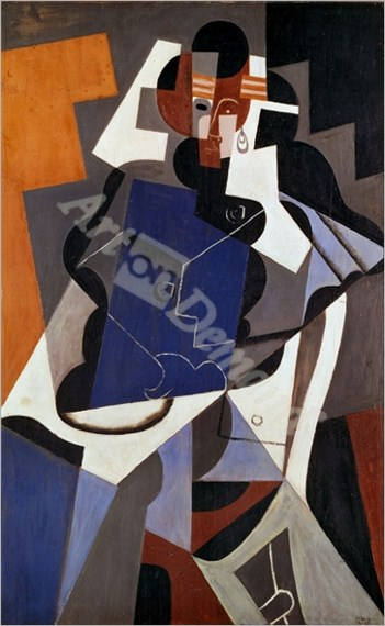 Woman, 1915-17 Canvas, 116 x 73 cm - Retratos