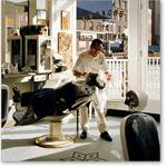 Barber Shop, 1994 (oil on canvas) - Retratos