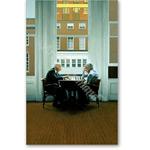 Chess Players, 1991 (oil on panel) - Retratos