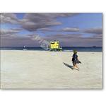 Miami Beach I, 1999 (oil on panel)  - Retratos