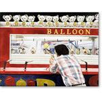 Ken versus the Balloon, 1990 (w/c on paper) - Retratos