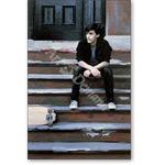 Skateboard I, 1983 (oil on panel) - Retratos