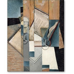 The Book, 1913  - Cubismo