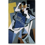 Figure of a Woman, 1917  - Gris, Juan