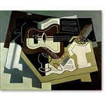 Guitar and Clarinet, 1920  - Cubismo