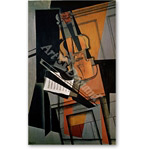 The Violin, 1916  - Bodegones
