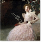 Sonja Knips, 1898 - KLIMT, Gustav
