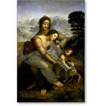 Virgin and Child with St.Anne, c.1510 (oil on panel) - VINCI, Leonardo da