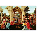 The Adoration of the Magi, 1481-82 - BOTTICELLI, Sandro