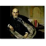 Portrait of Santiago Ramon y Cajal (1852-1934) 1906 (oil on canvas) - Desnudos