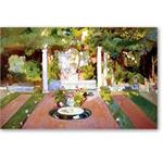Jardin de la casa del artista VIII - Desnudos