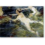 Nadadores en Javea - Desnudos