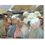 Valencianas en la playa 1915 - Desnudos