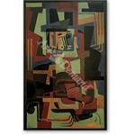 Man with Violin - Cubismo