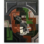 Still life with Plaque - Cubismo