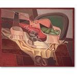 Stilleben (Tisch mit Sessel)  - Bodegones