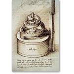 Maquinaria de reloj - VINCI, Leonardo da
