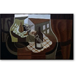 Gueridon vor dem Fenster  - Cubismo
