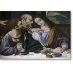 nach Leonardo, Abendmahl/Ponte Capriasca  - VINCI, Leonardo da
