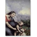 Cesare da Sesto, Maria mit Kind und Lamm  - VINCI, Leonardo da