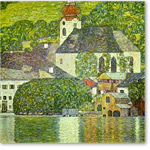 Church in Unterach on Attersee-Lake - Desnudos