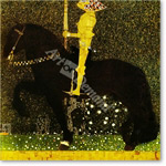 Life is a struggle or the golden knight - KLIMT, Gustav