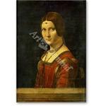 La bella Ferroniere - VINCI, Leonardo da