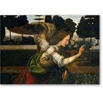 El ángel, detalle de la Anunciación - VINCI, Leonardo da