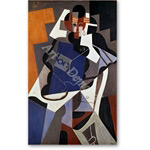 Woman, 1915-17 Canvas, 116 x 73 cm - Cubismo