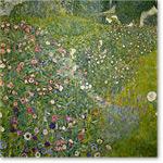 Italian garden landscape - KLIMT, Gustav