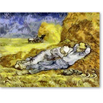 Digital Effect -Noon, or The Siesta (Van Gogh)- CM7075 - Desnudos