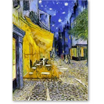 Digital Effect -Cafe terrace at night (Van Gogh)- CM7080 - Desnudos