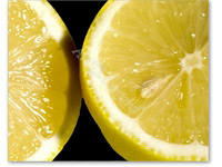 limones - Fotomural Comida y Bebida