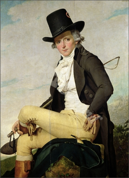 Portrait of Pierre Seriziat (1757-1847) the artist