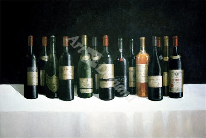 Winescape, 1998 (acrylic on board) - Seligman, Lincoln