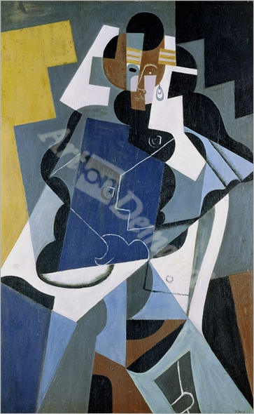 Figure of a Woman, 1917  - Gris, Juan