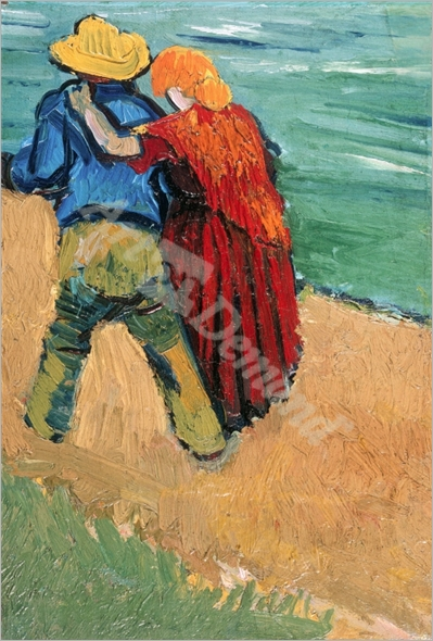 A Pair of Lovers, Arles, 1888 (oil on canvas) - VAN GOGH, Vincent