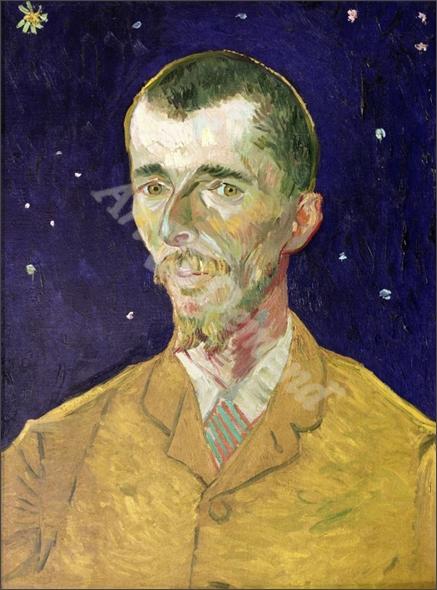 Portrait of Eugene Boch (1855-1941) 1888 (oil on canvas) - VAN GOGH, Vincent