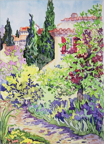 Garden at Vaison - Gibson, Julia
