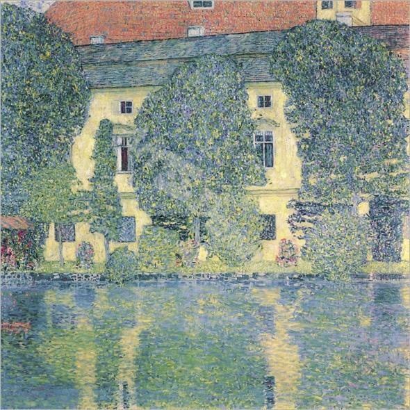The Schloss Kammer on the Attersee, 1910 (oil on canvas) - KLIMT, Gustav