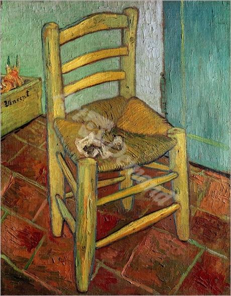 Silla Amarilla - VAN GOGH, Vincent