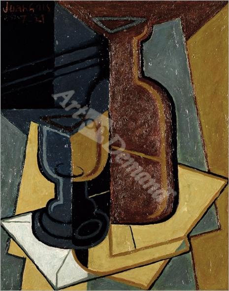 The Letter, 1921  - Gris, Juan