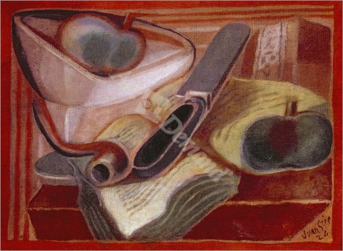 The Book, 1924  - Gris, Juan
