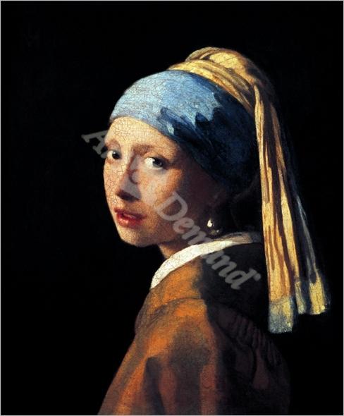 La joven de la perla,  - VERMEER, Johannes