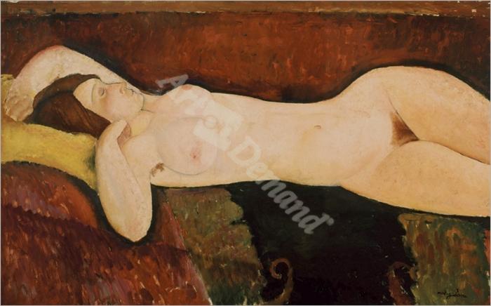 Desnudo femenino acostado - MODIGLIANI, Amedeo
