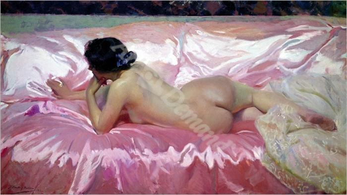 Desnudo femenino - SOROLLA, Joaquín