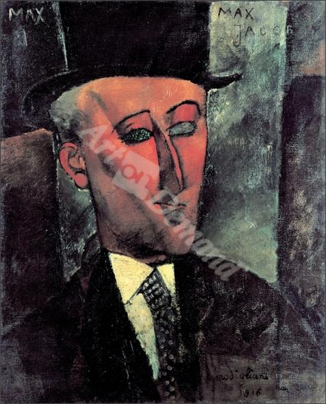 Portrait de Max Jacob - MODIGLIANI, Amedeo