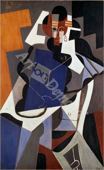 Woman, 1915-17 Canvas, 116 x 73 cm - Gris, Juan